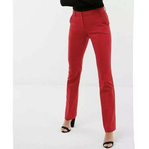 EXPRESS Womens 2R MID RISE COLUMNIST Chino Trouser